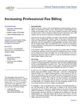 case study pro fee billing